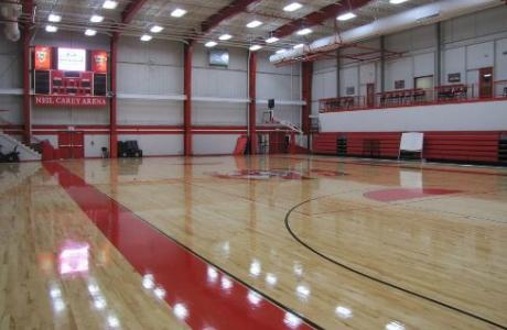 Our newly renovated Neil Carey Arena can be utilized for your next volleyball or basketball camp