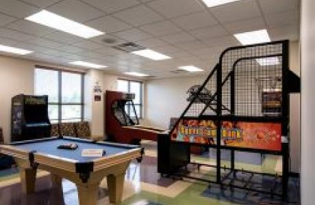 New Psalmist Retreat and Meeting Center Game Room
