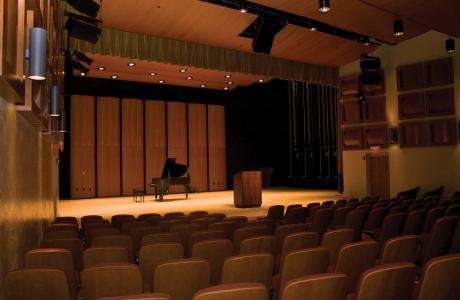 Rose Performance Hall - Ideal acoustics, 250 person capacity