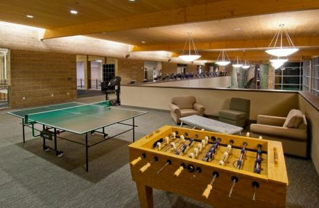 Game Room at the Recreation Center. Invite your guests to enjoy some free time in one of two game rooms within the Recreation Center.