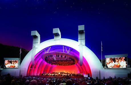 The Iconic Hollywood Bowl Stage