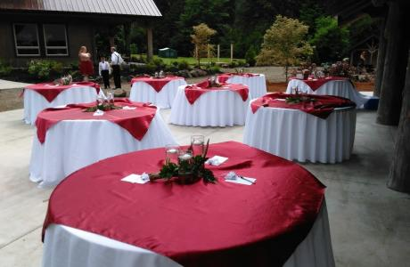 We can handle up to 250 people for your event!