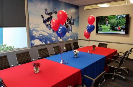Conference Room set up during VIP Buy Out