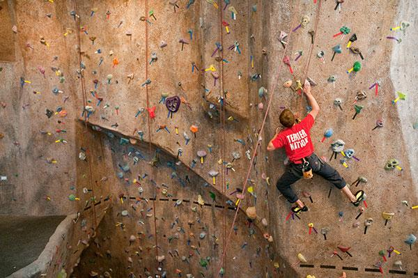 Climbing at FitRec