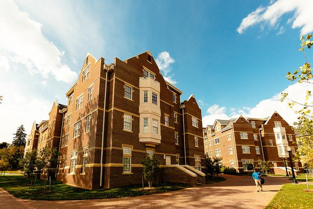 New and Caldwell Residence Halls