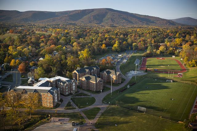 Roanoke College Residence Halls and Athletic Fields
