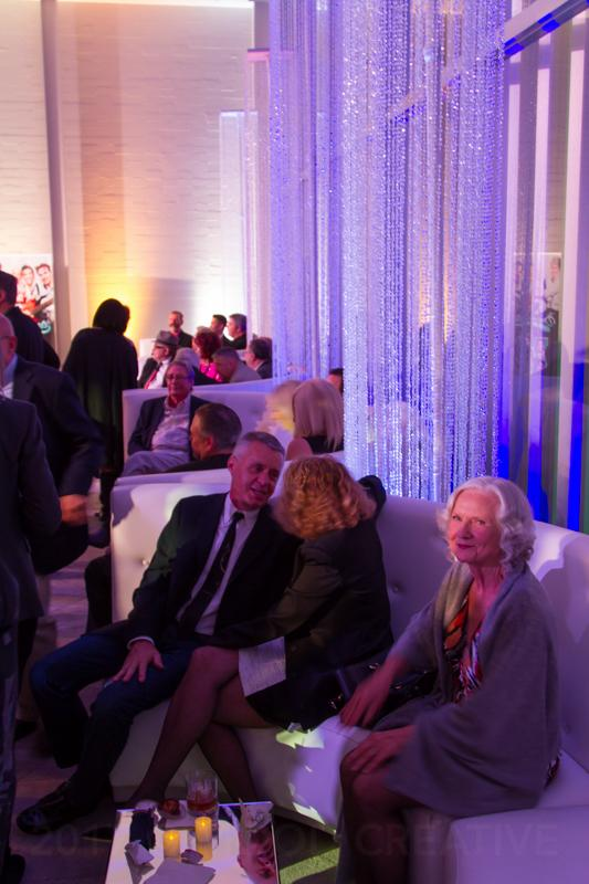 So many ways to design an event, including cool lounge areas.