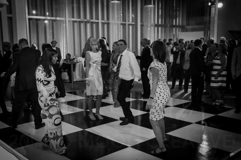 Who doesn't love a cool retro dance floor to boogie on?