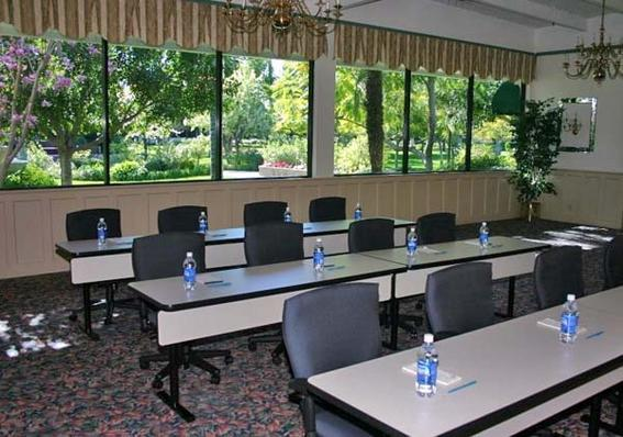 Meeting rooms with view of gardens