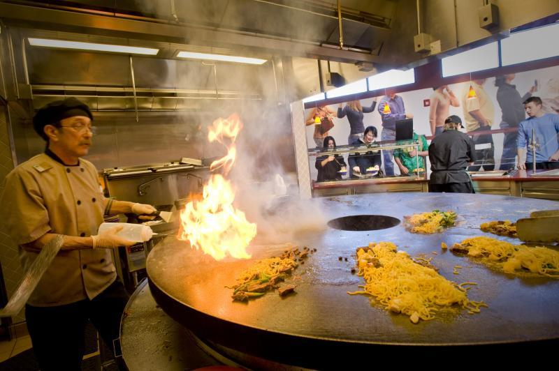 Marche style dining centers -Mongolian Grill