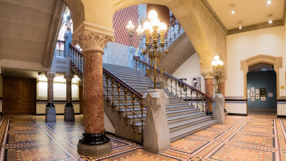 PAFA; Historic Landmark Building Interior - The Grand Staircase