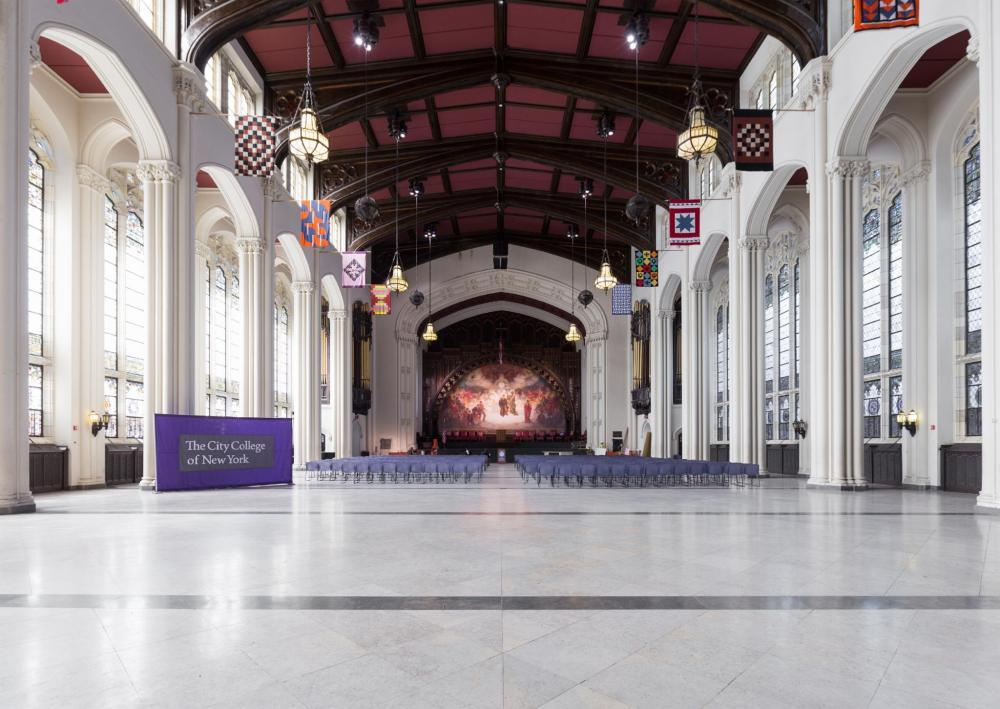 The Great Hall of Shepard Hall, CCNY
