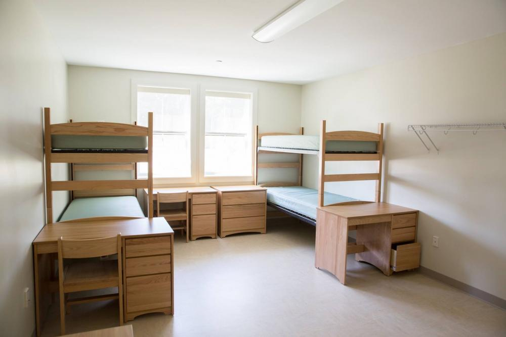 Frates Hall - Traditional dorm style room