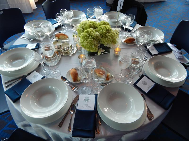 Kelly Commons Banquet Room - Table Setting
