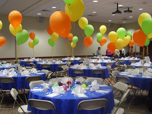 Conference Rooms A & B - Banquet style