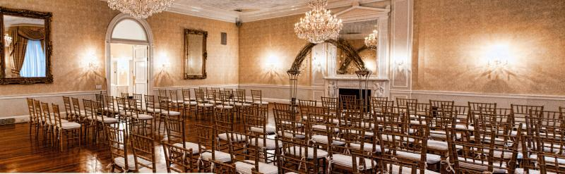 Grand Salon Wedding Ceremony Set up