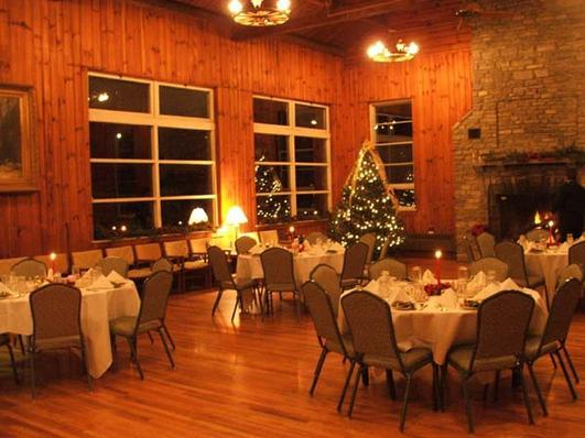 Lutheridge is a cozy place to be around the holidays!
