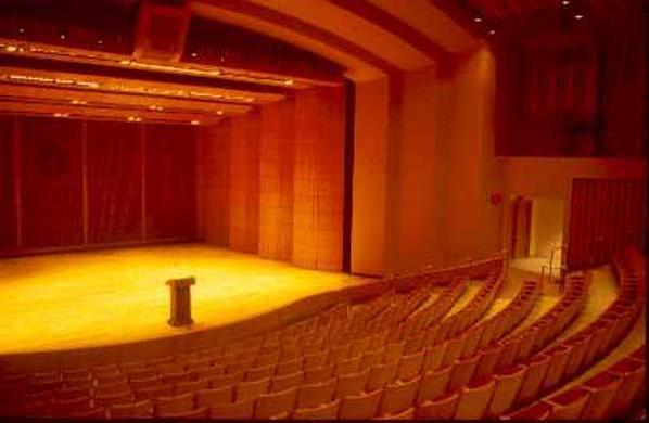 Three professional performing venues