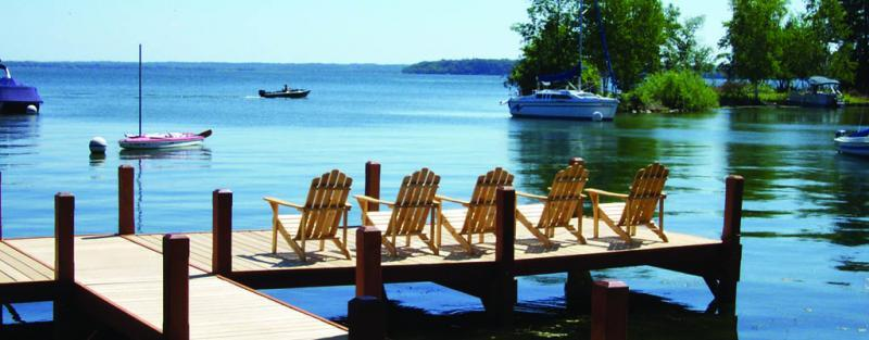 Save Over Two Miles Of Sline On Wisconsin S Deepest Lake