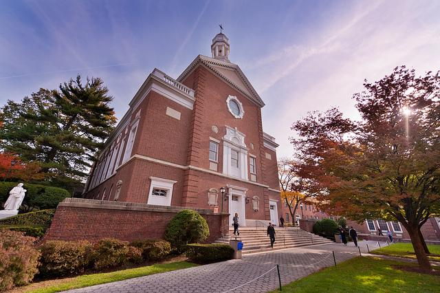Smith Hall - home of Chapel of De La Salle & Auditorium/Banquet space