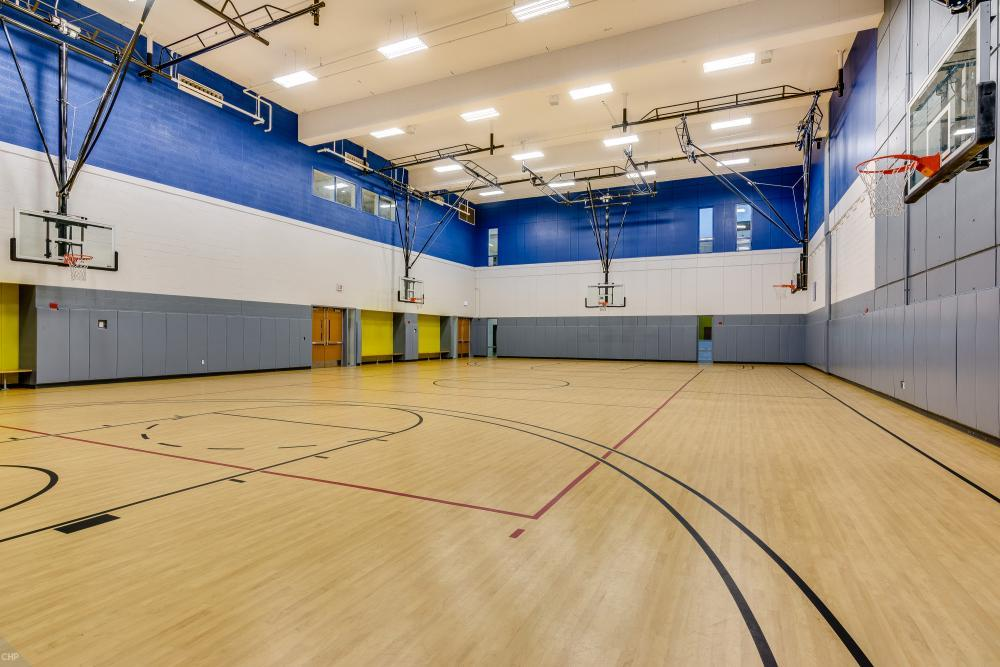 Gymnasium (seats up to 200)