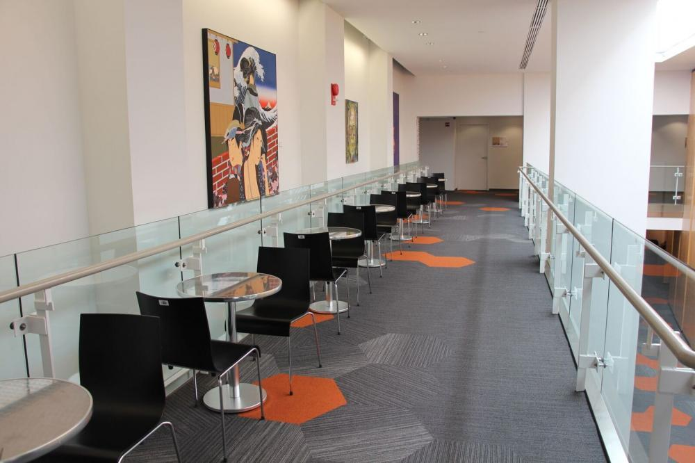 FHI360 Conference Center: Balcony Lounge