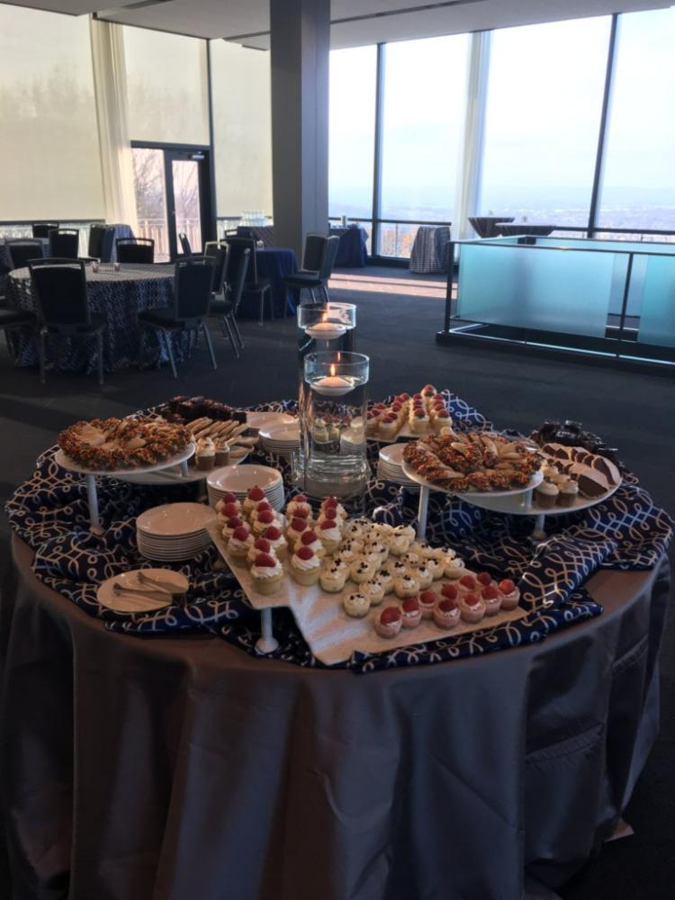 Iacocca Conference Center - dessert display