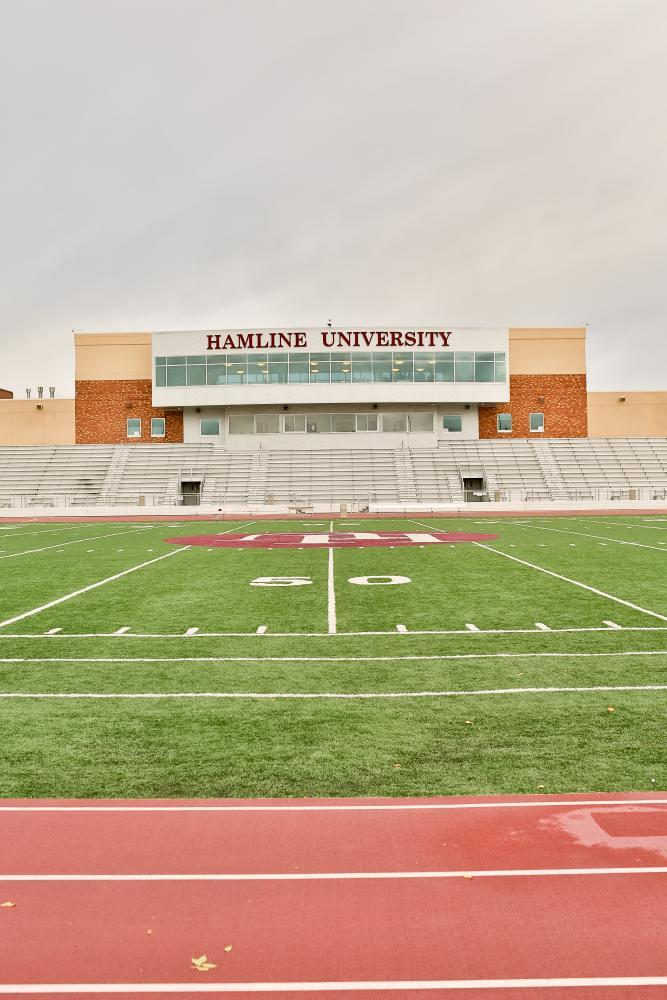 Hamline Football field