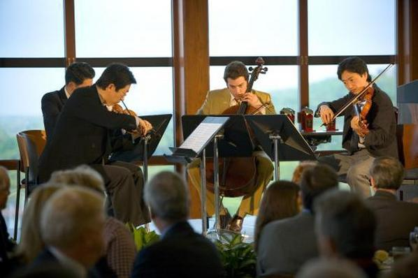 University Musicians set the mood at a Conference Center event