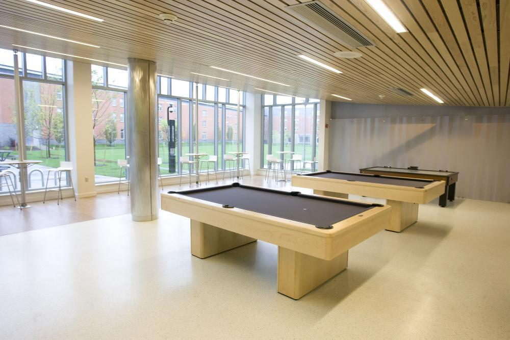Atlantic Hall pool tables