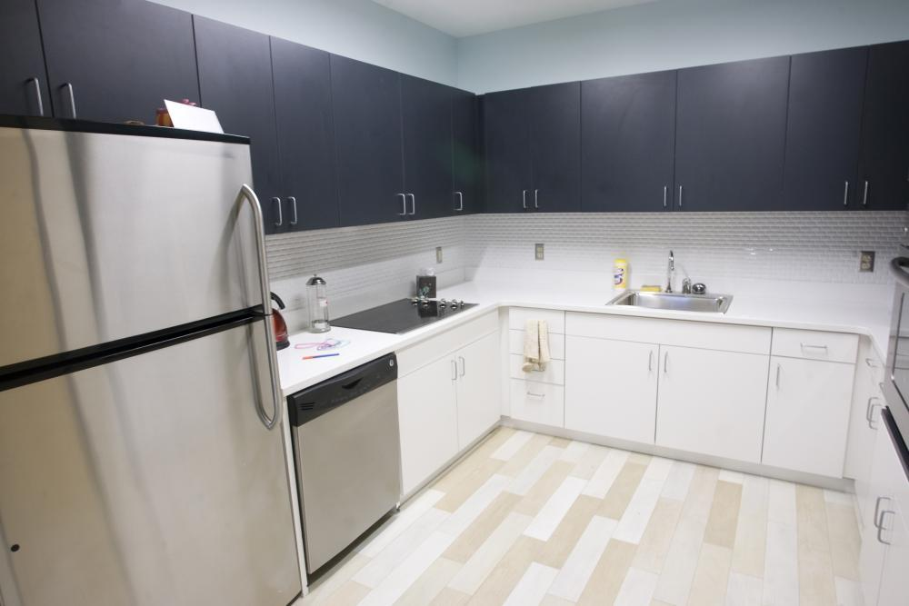 Atlantic Hall unit kitchen