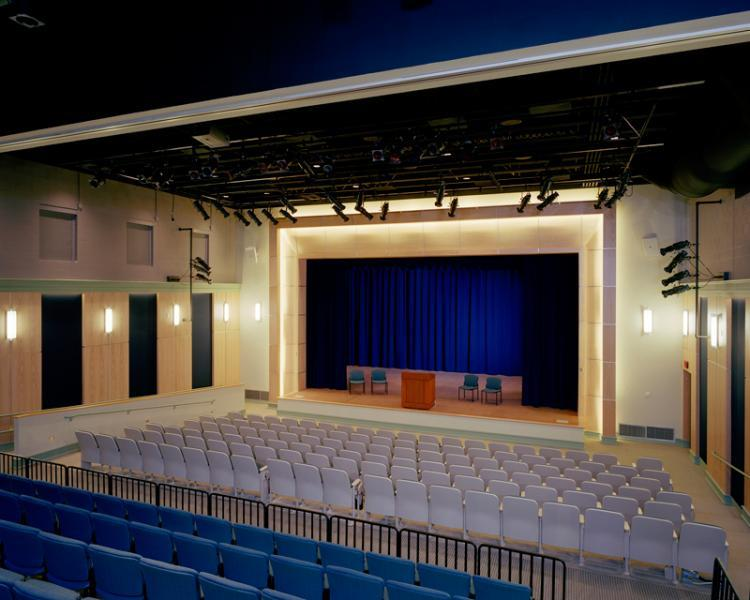 Keith Auditorium at Curry College
