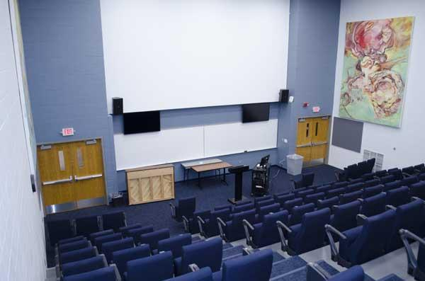 Updated lecture hall