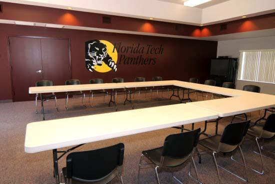 Columbia Village meeting room, set U-shape
