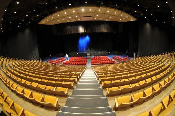 Johnston Theatre can host nearly 3,000 guests