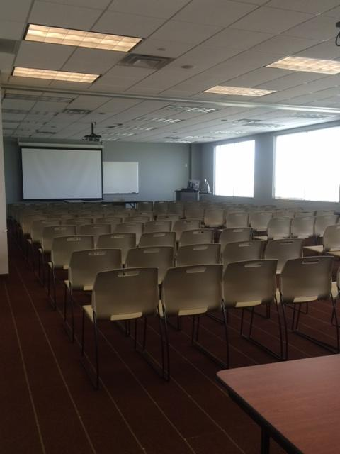 Lecture Set Up (chairs only)