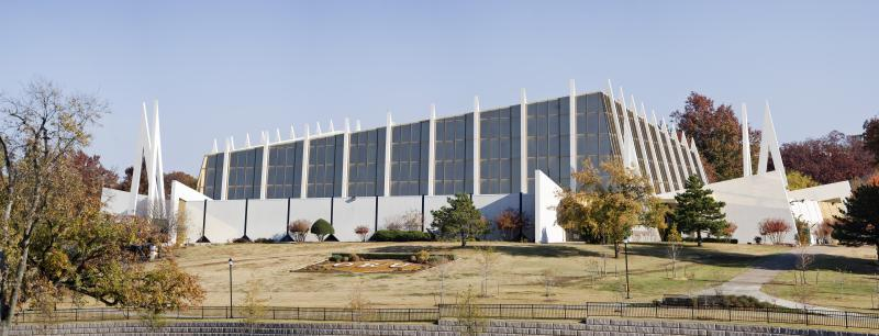 Christ's Chapel has a large auditorium and also smaller meeting rooms