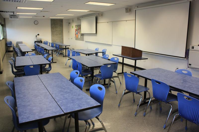 High tech classroom, with AV, suitable for breakout spaces