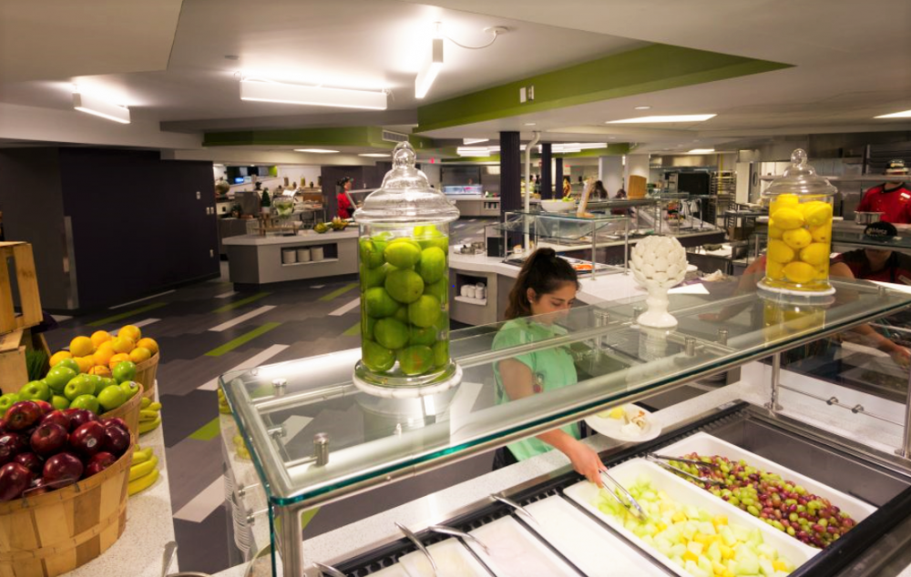 Niagara University's Dining Commons