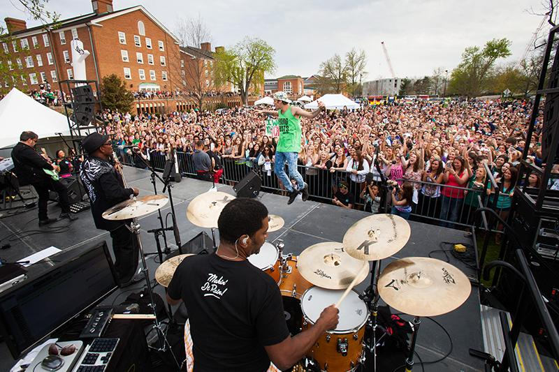 Concert on South Green