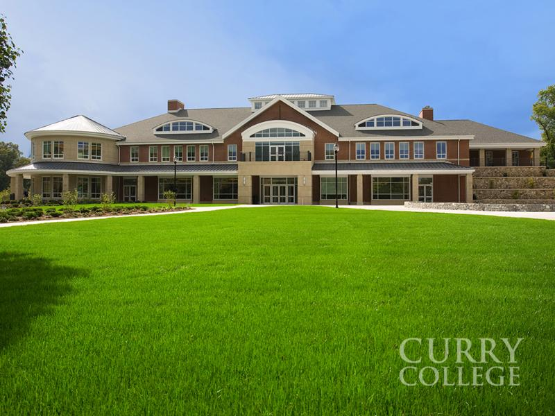 The Student Center at Curry College