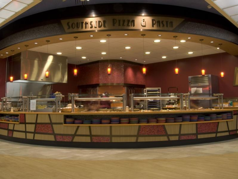 One of the dining options at the Dining Commons. Photo courtesy of Spartan Shops
