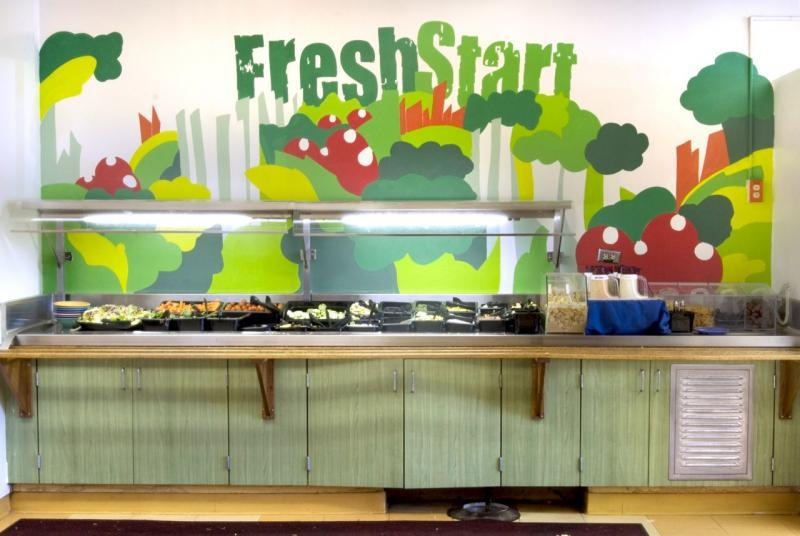 The fresh produce of our Dining Commons. Photo courtesy of Spartan Shops