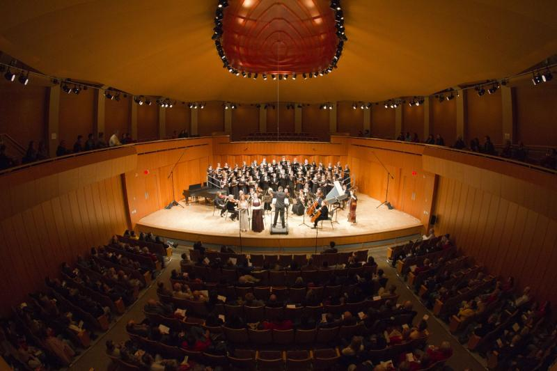 The advanced acoustics of our Concert Hall are superb for recitals!