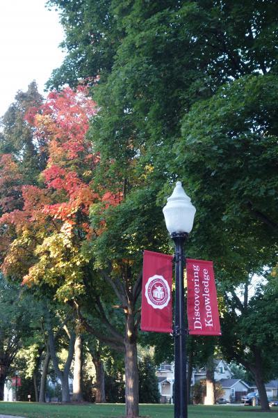 Wayland Campus is beautiful during every season of the year.