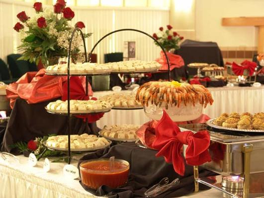 Elegant, customized catering