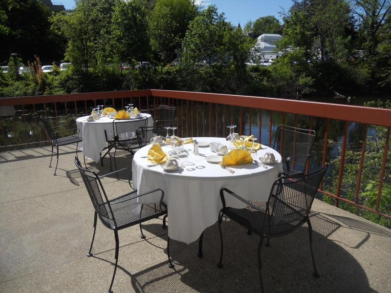 Morrison patio of Willits-Hallowell, perfect for outdoor dining and socials