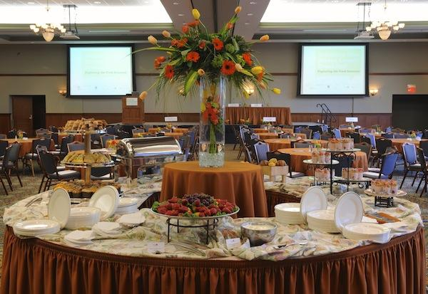 Catering in the Ballroom