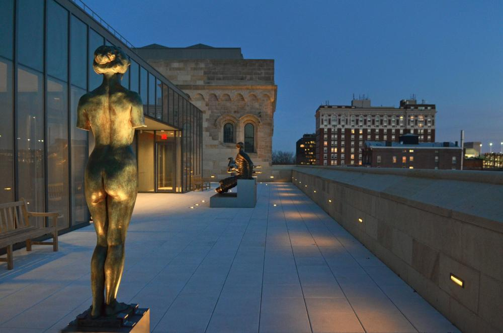 Yale University Art Gallery - Terrace