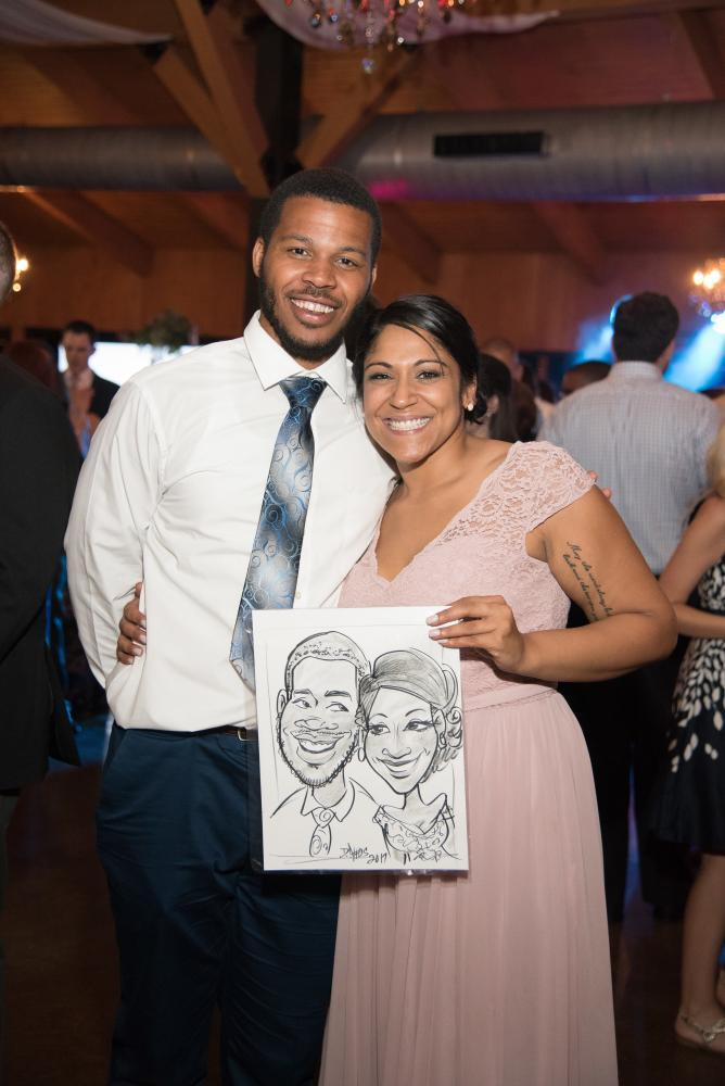 Fun with Caricature Artists